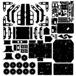 R.E.X Evolution Serisi Super Star Transformers - 8 in 1 - Thumbnail