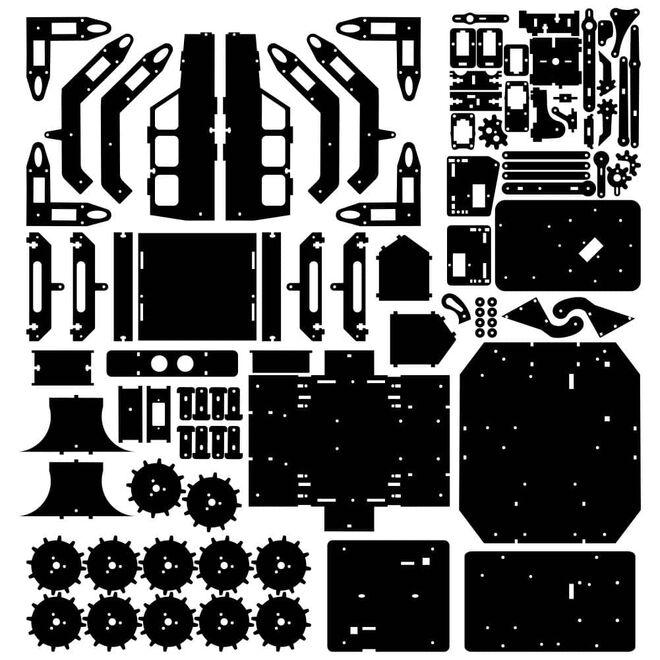 R.E.X Evolution Serisi Super Star Transformers - 8 in 1