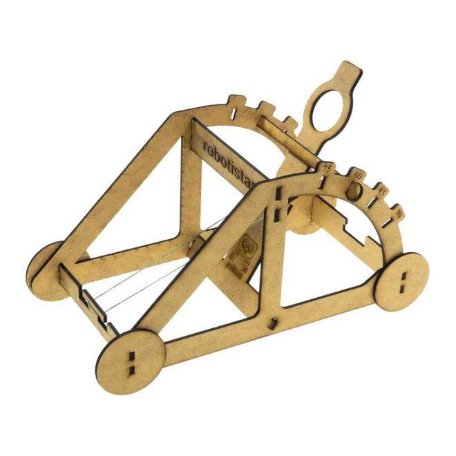 R.E.X Woody Serisi D.I.Y Mancınık (Catapult) - Boyanabilir - STEM