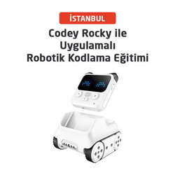 Robotistan - Robotics Application with Codey Rocky Istanbul