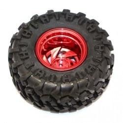 Robotistan - Rover Wheel 125mm x 58mm - Red