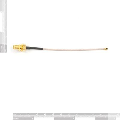 RP-SMA to u.FL Interface Cable