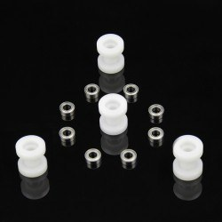 Rulmanlı Plastik Makara - 4′lü Paket - 87300 - Thumbnail