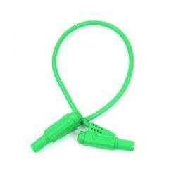 Robotistan - Safety Protected Banana Plug - Green, 25cm, 4mm