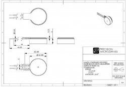 Şaftsız Titreşim Motoru 10x3 mm - Thumbnail