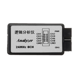 Saleae USB Logic Analyzer - 24 MHz 8 Channelss - Thumbnail