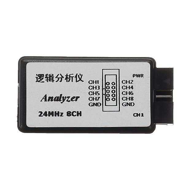 Saleae USB Logic Analyzer - 24 MHz 8 Channelss