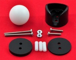 Sarhoş Teker 19.05 mm - Ball Caster with 3/4 Inch Plastic Ball - PL-954 - Thumbnail