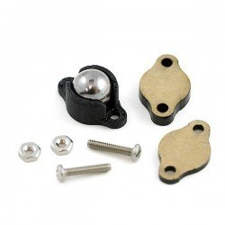 Sarhoş Teker Metal 9.5 mm (Ball Caster with 3/8 Inch Metal Ball) - PL-951 - Thumbnail