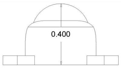 Sarhoş Teker Metal 9.5 mm (Ball Caster with 3/8 Inch Metal Ball) - PL-951