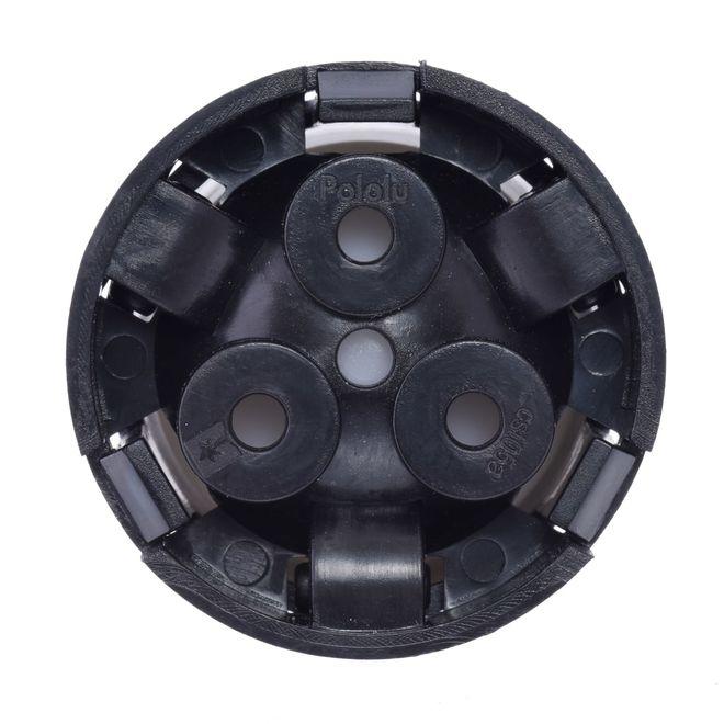 Sarhoş Teker Plastik 25.4 mm - 1 Inch (Plastik Rulman Yataklı)