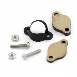 Pololu - Sarhoş Teker Plastik 9.5 mm (Ball Caster with 3/8 Inch Plastic Ball) - PL-950