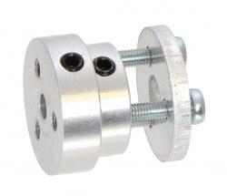 Pololu - Scooter/Kaykay Tekerlekler için 4 mm Şaft Adaptörü - PL2672