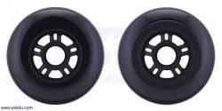 Scooter/Skate Wheel 100×24mm - Black - PL3278 - Thumbnail