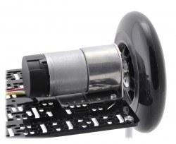 Scooter/Skate Wheel 144×29mm - Black - PL3281 - Thumbnail