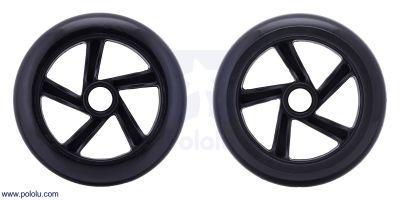 Scooter/Skate Wheel 144×29mm - Black - PL3281