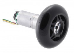 Scooter/Skate Wheel 70×25mm - Black - PL3272 - Thumbnail