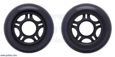 Scooter/Skate Wheel 70×25mm - Black - PL3272