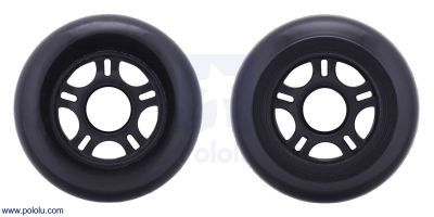 Scooter/Skate Wheel 84×24mm - Black - PL3275