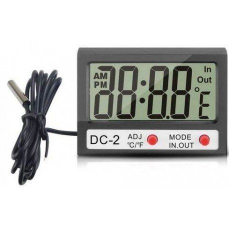 SDC-2 Dijital Termometre - Su Geçirmez Prop
