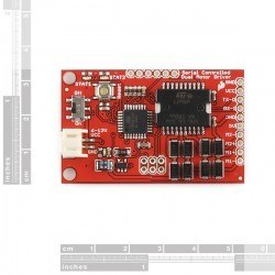 Seriial Controlled Motor Driver Board - Thumbnail