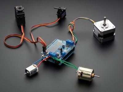 Servo/DC/Step Motor Shield for Arduino