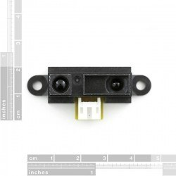 Sharp GP2Y0A41SK 4-30 cm Sensör - Infrared Proximity Sensor Short Range - Thumbnail