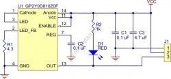 Sharp GP2Y0D815Z0F Kızılötesi Sensör 15 cm - PL-2465 - Thumbnail