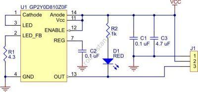 Sharp GP2Y0D815Z0F Kızılötesi Sensör 15 cm - PL-2465