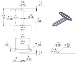 Sharp Kızılötesi Sensör Tutucu (Çok yönlü) - PL-2679 - Thumbnail