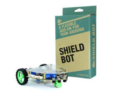Shield Bot - Arduino Temelli Robot Platformu