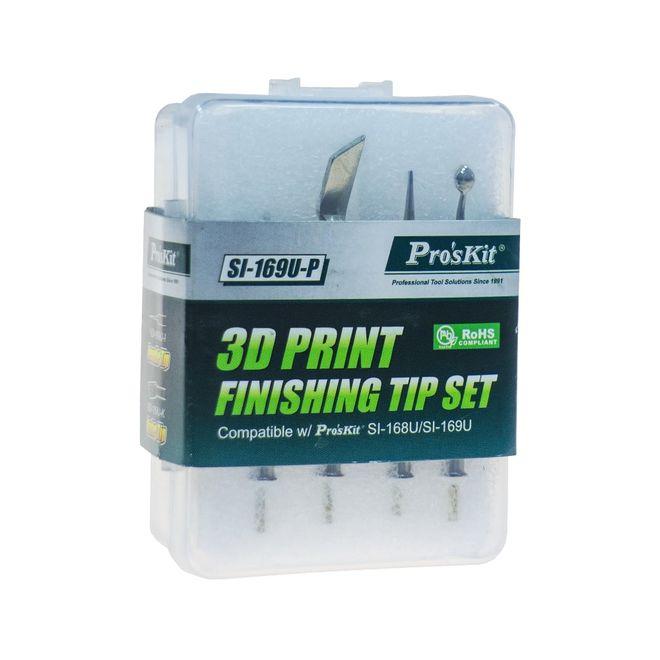 SI-169U-P 3D Printer Bitirme Aleti yedek uç seti