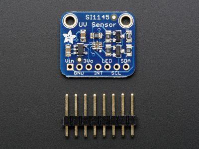 SI1145 UV İndeks/IR/Görünür Işık Sensörü