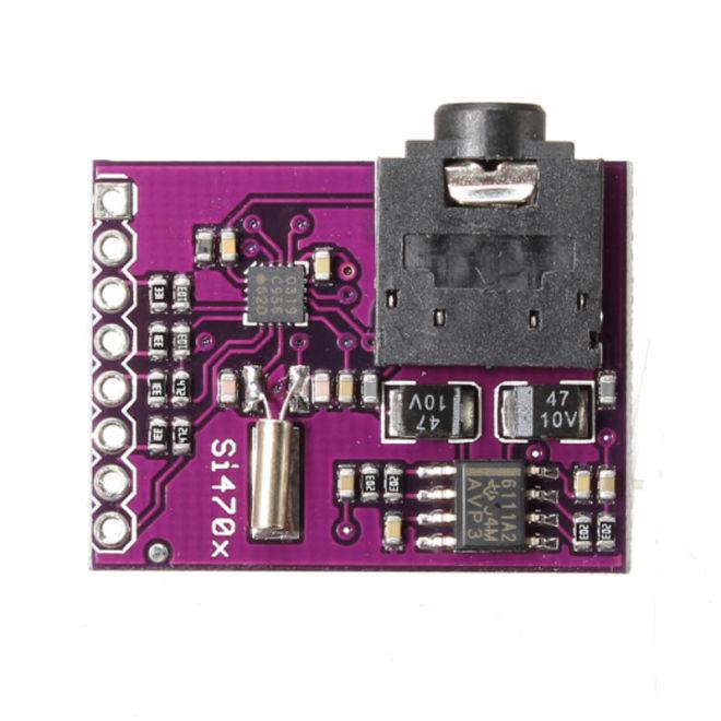 Si4703 FM Tuner Geliştirme Kartı