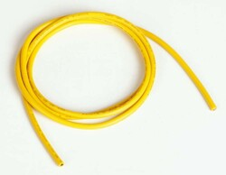 China - Silicone Wire 14 AWG 1 Meter - Yellow