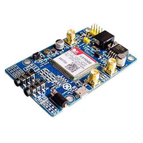 SIM808 GSM/GPRS/GPS Geliştirme Kartı (Arduino ve Raspberry Pi Uyumlu)