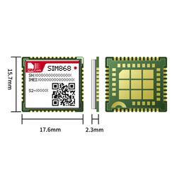 SİMCOM - Sim868E GSM / GPRS Modülü