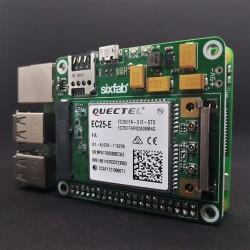 Sixfab 3G, 4G/LTE için mPCI-E Base Shield - Kısa Header - Thumbnail