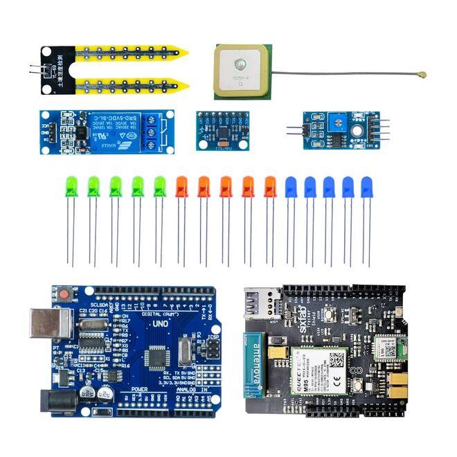 SixFab Arduino GSM Shield Proje Geliştirme Seti (E-Kitap Hediyeli)