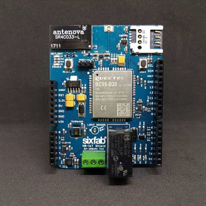 Arduino NB-IoT Shield