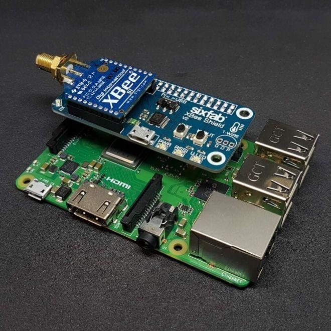 Sixfab Raspberry Pi XBee Shield V2 - Kısa Header