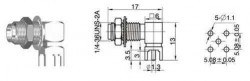 SMA-KWE - RF Connector - Thumbnail