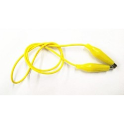 Robotistan - Small Crocodile Cable 20 cm - Yellow