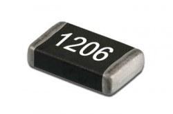 China - SMD 1206 390K Resistor - 25 Pcs