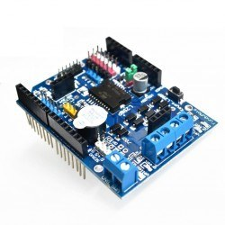 Robotistan - SMD L298 Dual Motor Driver Shield for Arduino
