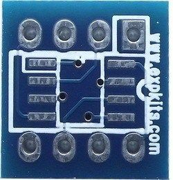 SO8DIP8 SMD-Dip Converter Board