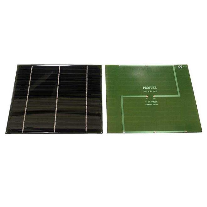 Solar Panel - 7.5V 500mA 150x160mm