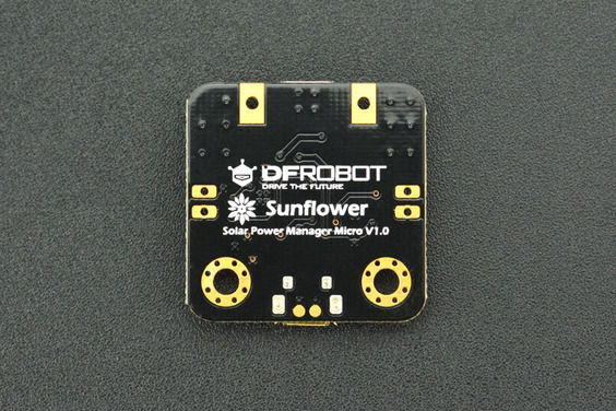 Solar Power Manager Micro (2V 160mA Solar Panel Included)