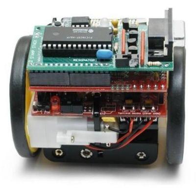 Solarbotics K SV Sumovore Mini Sumo Kit - Mini Sumo Robot Kiti (Demonte) - PL-189