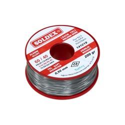 Soldex - Soldex 0.5 mm 200 gr Soldering Wire (%60 Sn / %40 Pb)